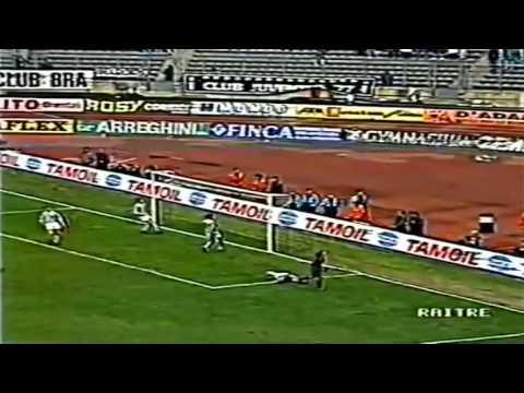 Serie A 1992-1993, day 18 Juventus - Cagliari 2-1 (R.Baggio, Torricelli o.g., Casiraghi)