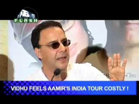 B4U Flash - Vidhu feels Aamirs india tour costly