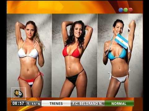 Conejitas del Mundial - Telefe Noticias
