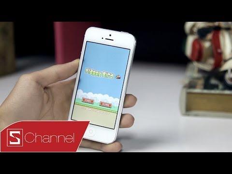 Schannel - Giới thiệu Flappy Bird -- Games cực kì ức chế - CellphoneS