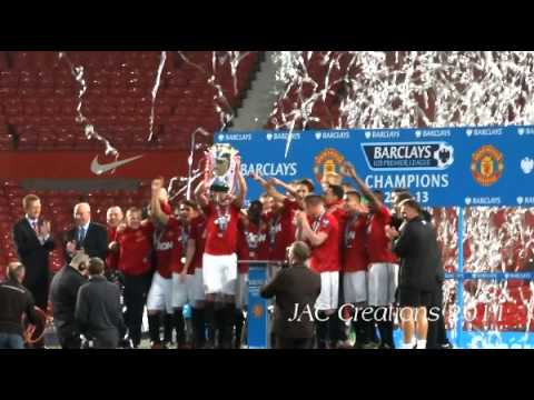 Manchester United U21 CHAMPIONS 2013 Live From old Trafford Man United 3-2 Spurs lap of honour