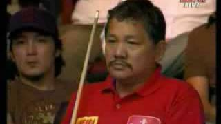 9 Ball World Pool Championships 2006   Efren Reyes vs Dennis Orcollo Part2