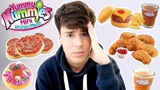 i only ate YUMMY NUMMIES mini foods for 24 hours !!!