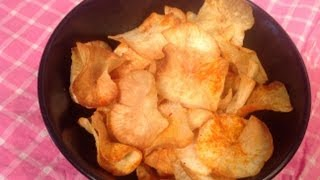 Maravalli Kilangu Chips or tapioca chips or cassava chips or yucca chips