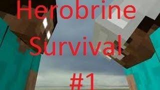 Minecraft: Herobrine Survival Part 1: Herobrine Trolled Me