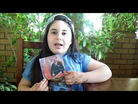 الطفلة رشا أيمن تشكر الملك محمد السادس