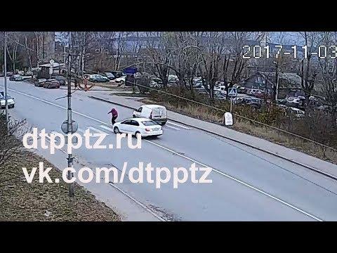 На улице Ригачина сбили пешехода
