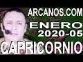 Video Horóscopo Semanal CAPRICORNIO  del 26 Enero al 1 Febrero 2020 (Semana 2020-05) (Lectura del Tarot)