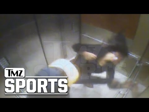 Ray Rice Suckerpunch his girlfriend with a K.O ( Full video)