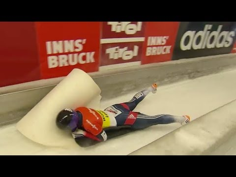 FIBT | Women's Skeleton World Cup 2013/2014 - Igls Heat 1