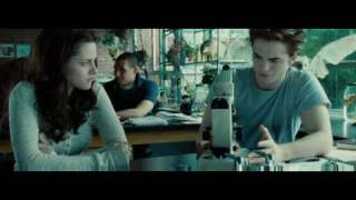 Twilight Biology Class Scene Edward's Golden Eyes