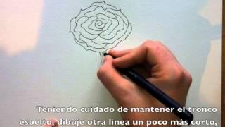 Cómo Dibujar Una Rosa Paso A Paso