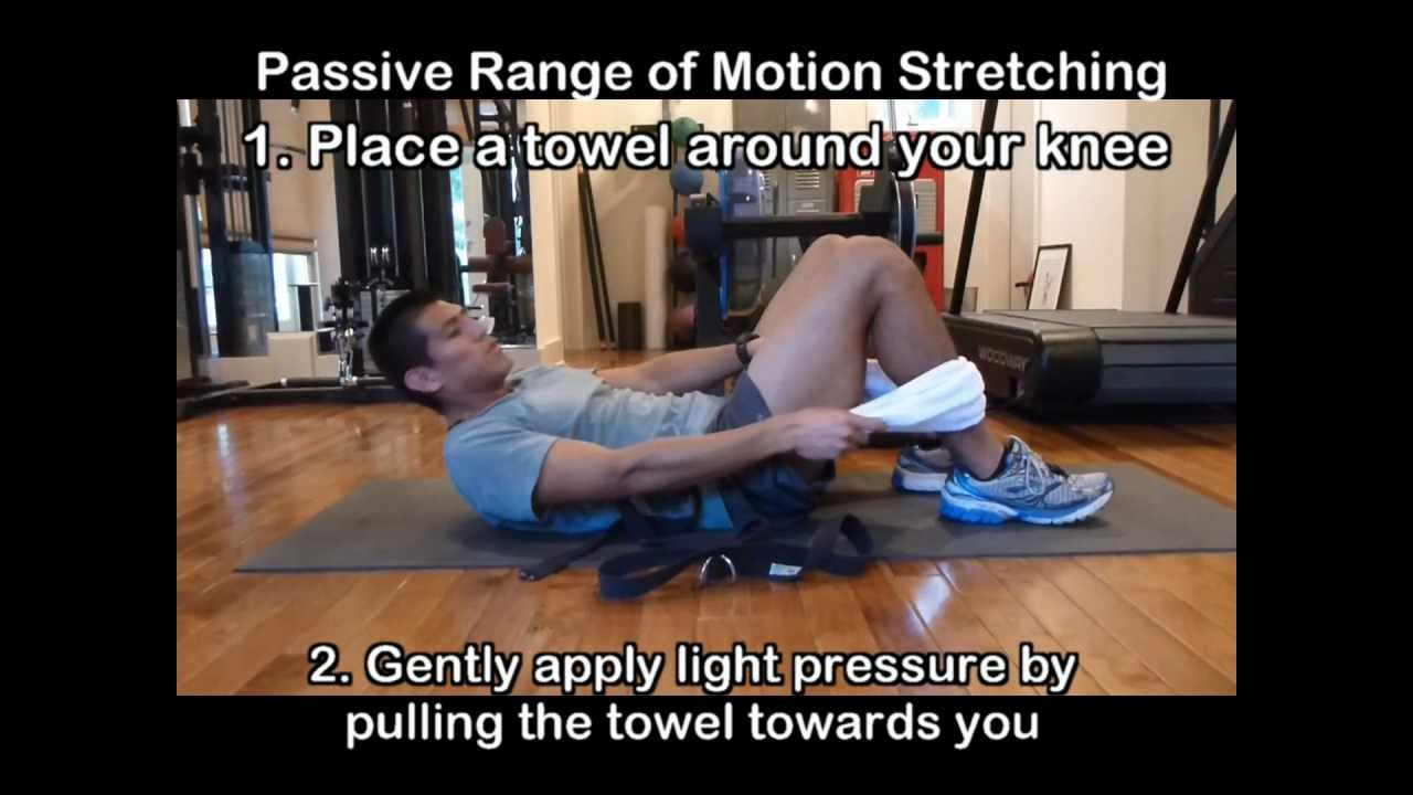Total Knee Replacement Exercises 7 - Knee Stretches After Knee Surgery