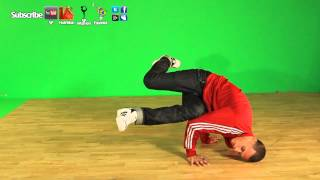 Como Hacer El Baby Freeze- Breakdance Tutorial Aprender A