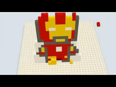 レゴ  Build with chrome - 레고 만들기 : 아이언맨 (LEGO ironman)