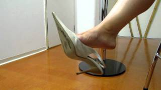 Slingback Pumps Dangling