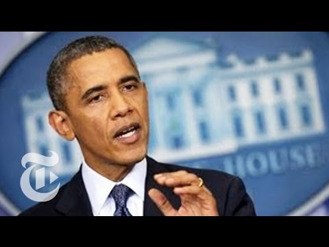 Obama on Raising the Debt Ceiling - Government Shutdown 2013