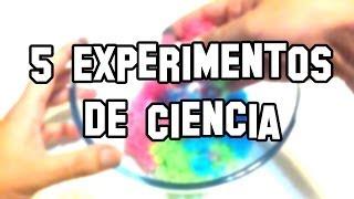 Experimentos de Ciencia caseros y fáciles