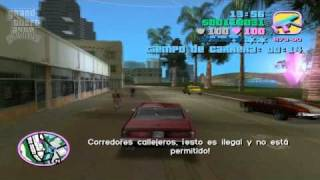 GTA Vice City Mision #43 El Conductor Tutorial (Club