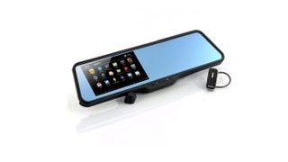 "Android Rear View Mirror ""Shift""- Dual Core CPU, 5 Inch"