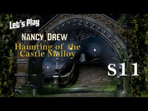 Let's Play Nancy Drew: The Haunting of Castle Malloy S11 - Picking Flowers in a Field