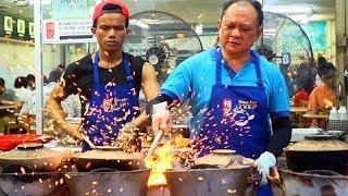 MALAYSIAN STREET FOOD - FIREWORK CHICKEN   CRAZY Street Food in Kuala Lumpur, Malaysia + JALAN ALOR