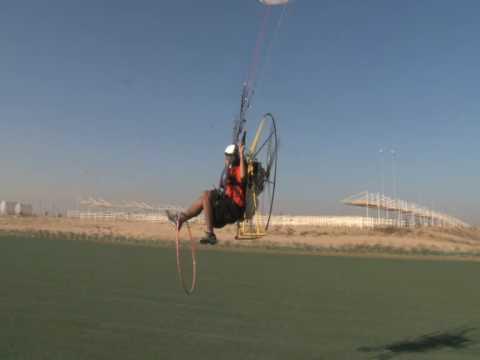 Khalid Al-Neyadi second Flight Paramorot