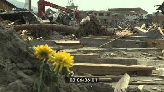 Japan Tsunami Aftermath Worst Hit Areas, Rikuzentakata - Full HD Screener Part 2