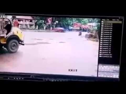 paul walker's car accident live cctv Footage