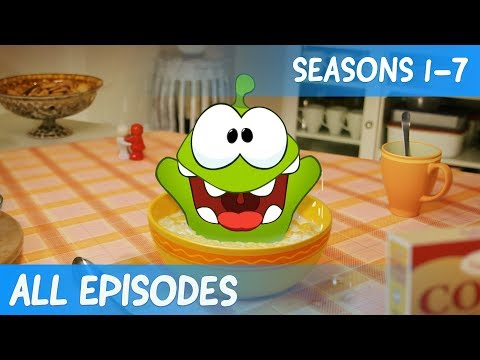Om Nom - Cut the Rope - 1-7 serie