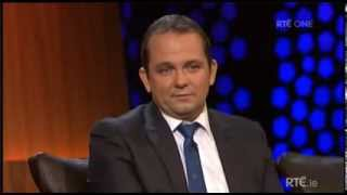 Davy Fitz on the Late Late Show