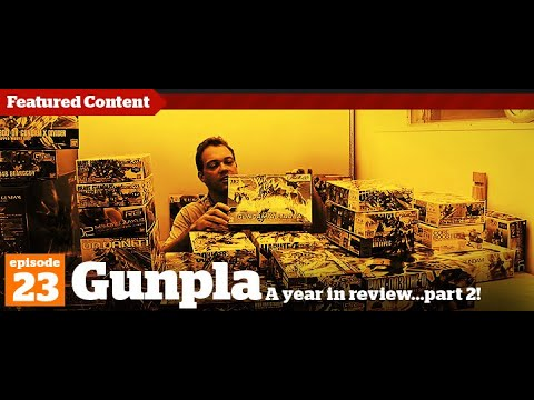 Gunpla - Episode 23 - Gundam - Tutorial - Building - Kit reviews