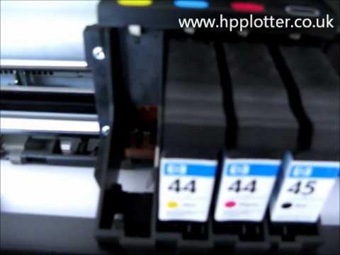 Designjet 700/750C/755CM Series - Ink cartridge error on your printer