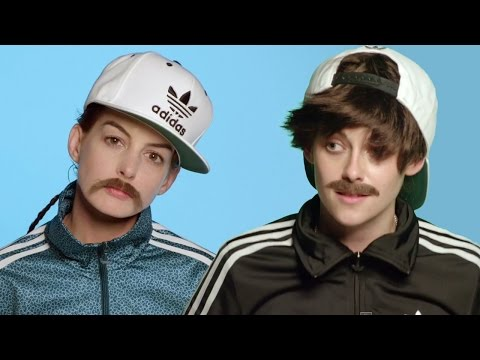 Kristen Stewart & Anne Hathaway In Drag For Jenny Lewis's 'Just One Of The Guys' Video