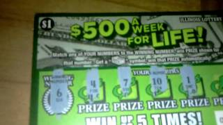 Illinois Lottery $1 500 A Week For Life #2