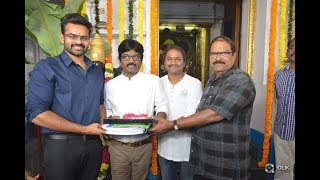 Sai DharamTej And Karunakaran Movie Launch