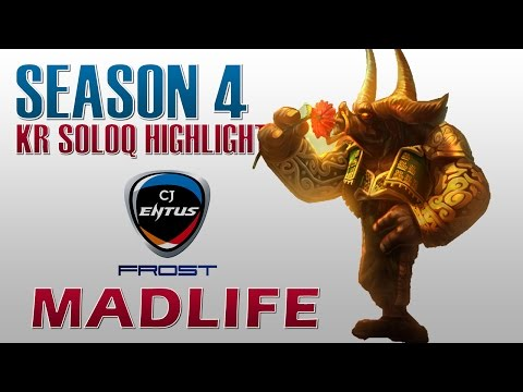 Madlife cầm Alistar sp gánh cả team ^^