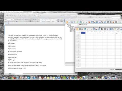 coefficient of variation spss pdf