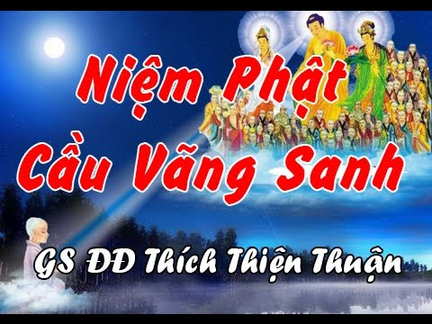 Niệm Phật Cầu Vãng Sanh - DD Thích Thiện Thuận, Thích Thiện Thuận Mới Nhất
