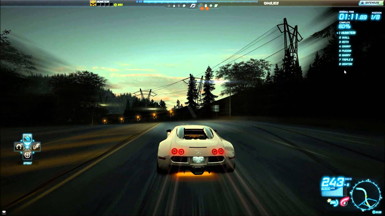 bugatti veyron 16 4 need for speed world youtube. Black Bedroom Furniture Sets. Home Design Ideas
