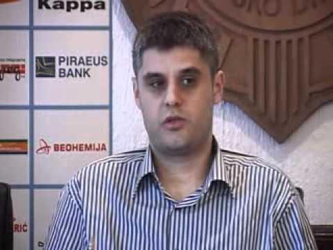RK Partizan pred mec protiv AEK-a
