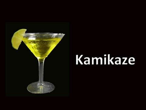 Kamikaze cocktail drink recipe youtube for Cocktail kamikaze