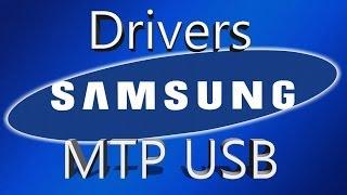 Instalar Driver Mtp Usb De Samsung Galaxy(todos) [pc