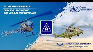 Os helicópteros da Força Aérea Brasileira (FAB) têm sua data comemorativa em 3 de fevereiro. O fato notório que deu origem à escolha desse dia ocorreu em 3 de fevereiro de 1964, em uma Missão de Paz da Organização das Nações Unidas (ONU), na região de Katanga, no Sul do Congo.
