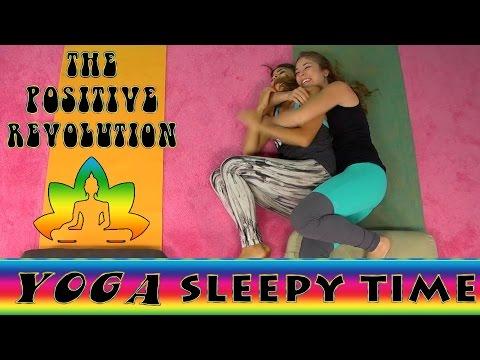 Sleepy Time Yoga on The Positive Revolution Presents Yoga