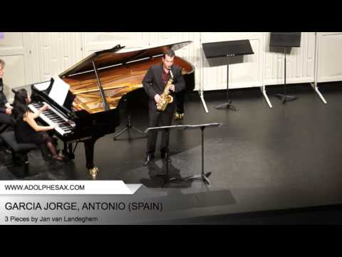 Dinant 2014 - Garcia Jorge, Antonio - 3 Pieces by Jan Van Landenghem