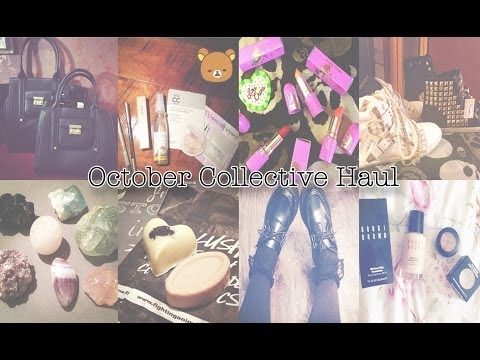 ☠ October Collective Haul: Forever21, Lime Crime, Ebay, Phillip Lim, Charlotte Russe, Earth Bound ☠