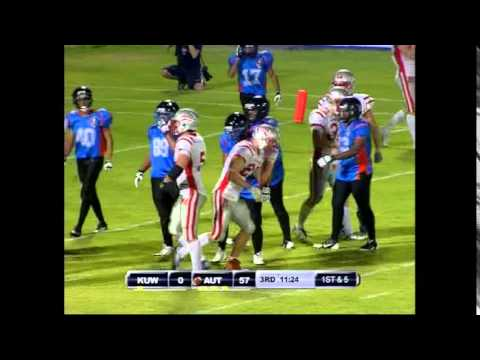 IFAF U19 World Champion KUWAIT 2014 Kuwait vs Austria