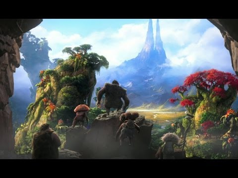 "The Croods - Official Trailer (HD), ""The Croods"" - Official Trailer The Croods is a prehistoric comedy adventure. In 3D.  In theaters: March 22nd, 2013"