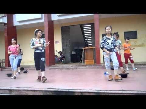 Nhảy hiện đại Roly Poly- Lớp 10A6- THPT GTC